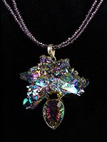 Pendant $480.00 #2599, 2 Stand Necklace $ 59.00 #2600
